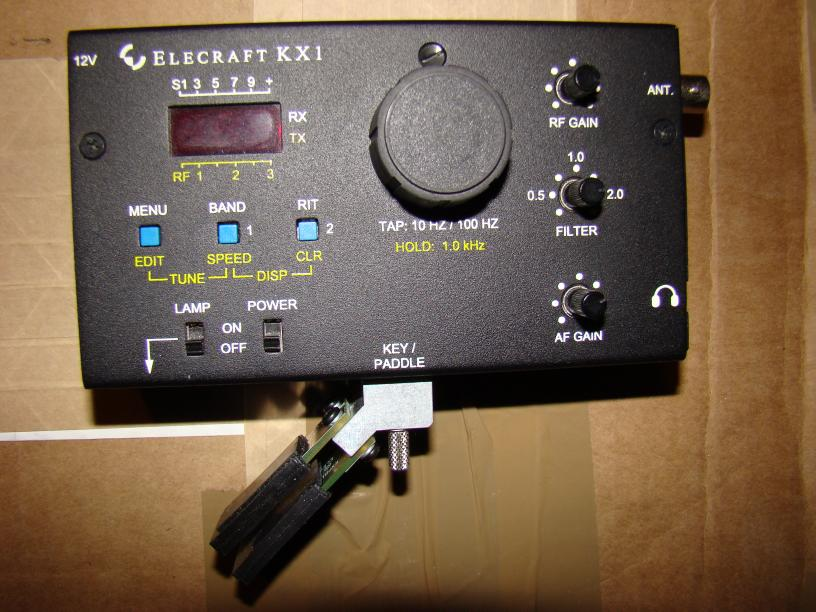 Page with QRP kits under construction and built